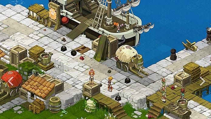 Wakfu é um MMORPG 2D que se passa no mesmo universo de Dofus (Foto: Divulgação)
