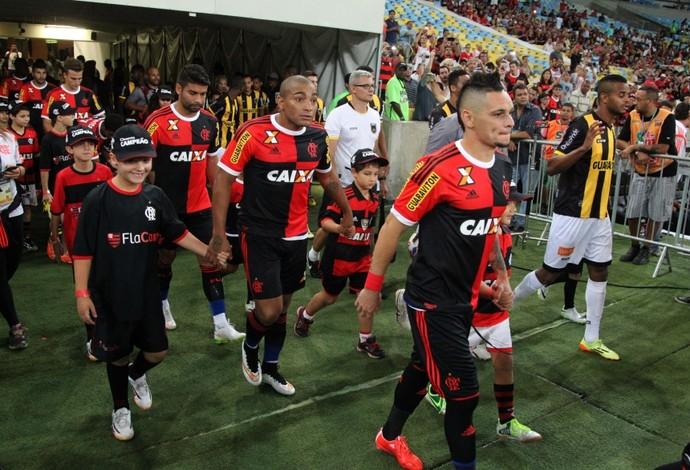 Camisa Papagaio de Vintém Flamengo (Foto: Gilvan de Souza / Flamengo)