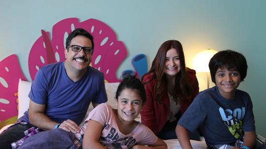 Lúcio Mauro Filho curte a Disney com a família: 'Final de semana de príncipes e princesas'