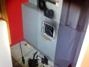 Caixa Cerrado Bom Despacho Minas Gerais Centro-Oeste (Foto: Polícia Militar/Divulgação)