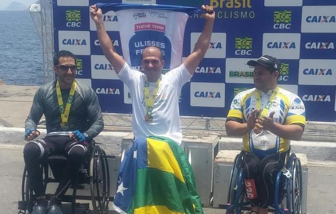 Ulisses Freitas, paraciclismo (Foto: Reprodução / Facebook)
