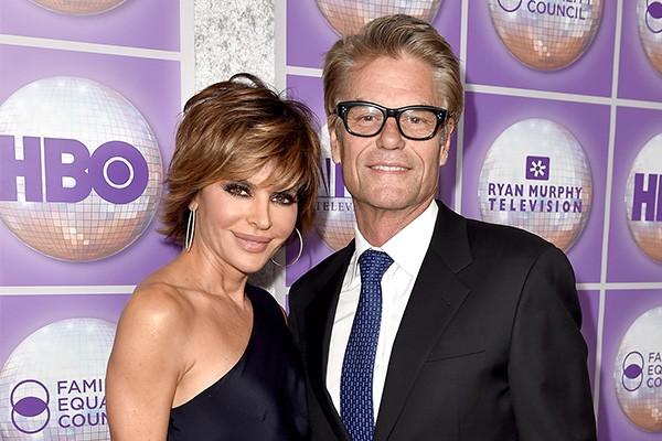 Lisa Rinna e Harry Hamlin (Foto: Getty Images)
