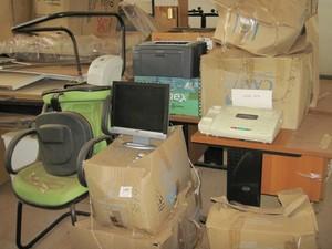 Lote disponibilizado em leilão do Tribunal de Justiça do DF (Foto: Tribunal de Justiça do Distrito Federal/Divulgação)