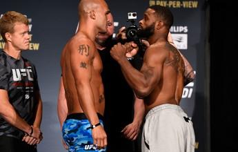 Lawler promete nocaute em pesagem do UFC 201; luta do card principal cai