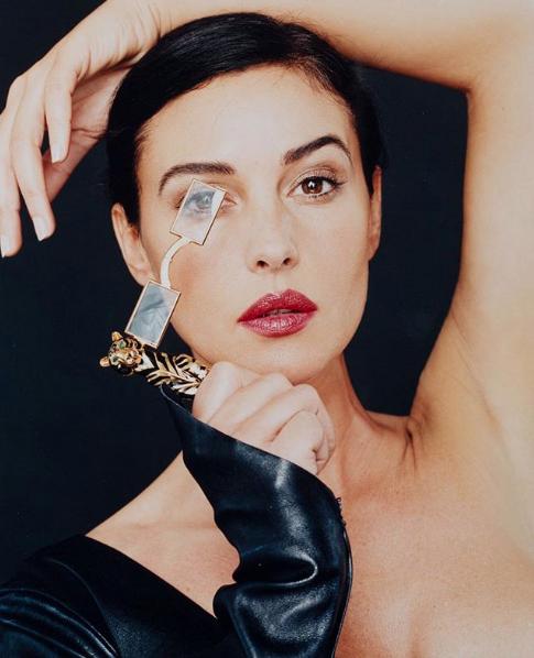 Campanha da Cartier com Monica Bellucci clicada por Bettina (Foto: Bettina Rheims/Cartier/Reprodução)