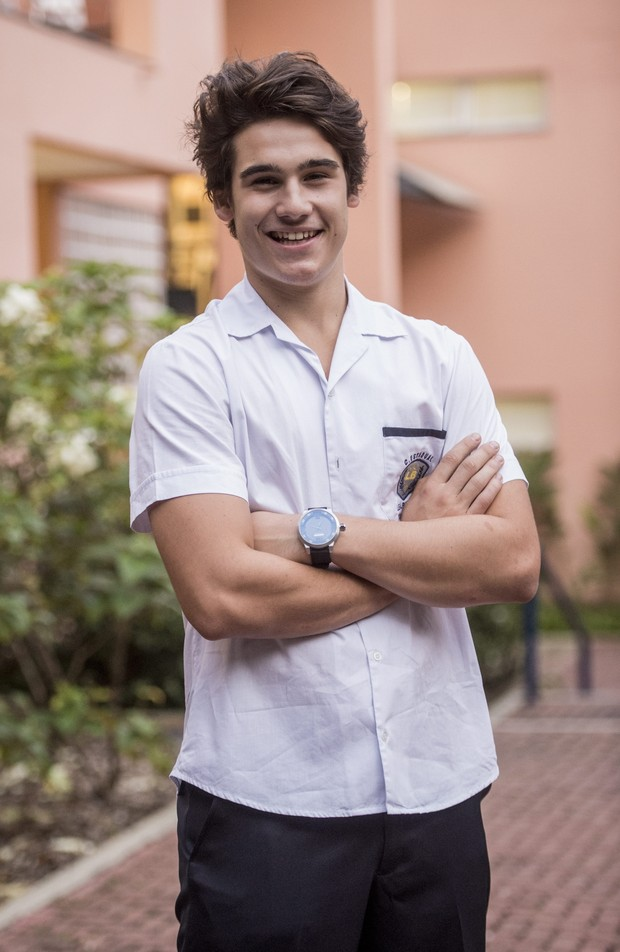 Nicolas Prattes será Rodrigo na nova temporada de Malhação (Foto: Globo/João Cotta)