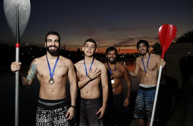 Banda OutroEu disputa Olimpíada do EGO (Foto: Marcos Serra Lima / EGO)