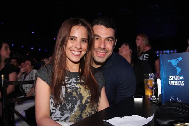 Wanessa e Marcus Buaiz (Foto: Cláudio Augusto/Foto Rio News)