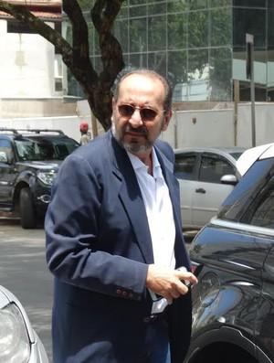 Alexandre Kalil chega para reunião da Liga Sul-MInas-Rio