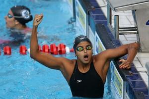 Etiene Medeiros faz melhor tempo da vida nos 100m costas e vai à final da prova no 1º dia do Maria Lenk (Foto: Foto: Satiro Sodré / CBDA)