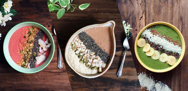 Smoothie bowls  (Foto: S Simplesmente )