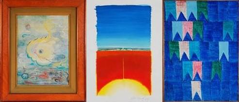 Obras de Guignard, Cildo Meirelles e Volpi estão entre as peças de destaque do leilão (Foto: Reprodução)