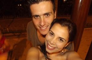 Veja o ensaio de Fabiano para o pedido de casamento  (Caldeirão do Huck / TV Globo)
