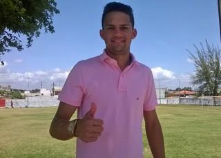 Emerson, novo atacante do Sergipe (Foto: Josafá Neto)
