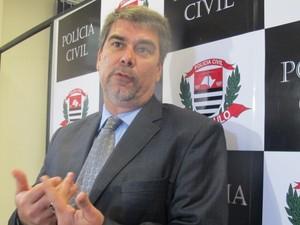 Delegado da DIG em Santos comentou o caso  (Foto: Anna Gabriela Ribeiro / G1)