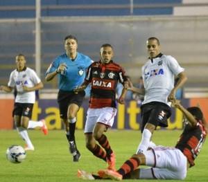 Flamengo x Atlético-PR no Moacyrzão (Foto: Site oficial do Atlético-PR/Gustavo Oliveira)