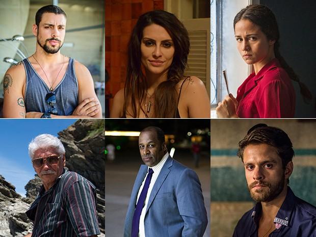 Personagens de O Caçador (Foto: TV Globo / Divulgação)
