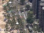 Orla do Recife é palco de ato contra o governo e a presidente Dilma