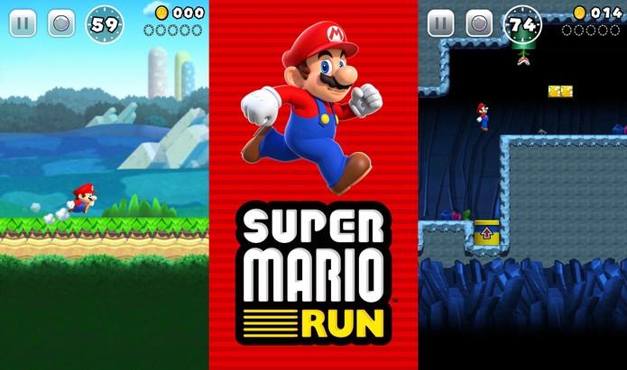 Super Mario Run terá jogabilidade familiar (Foto: Divulgação/Nintendo)