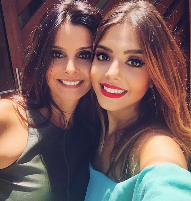 Giovanna Lancellotti com a mãe, Giuliana (Foto: Reprodução/Instagram)