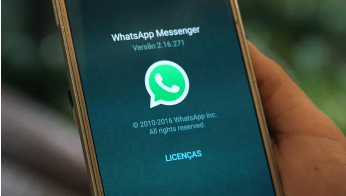 whatsapp-simbolo-no-celular (Foto: Carolina Ochsendorf/TechTudo)