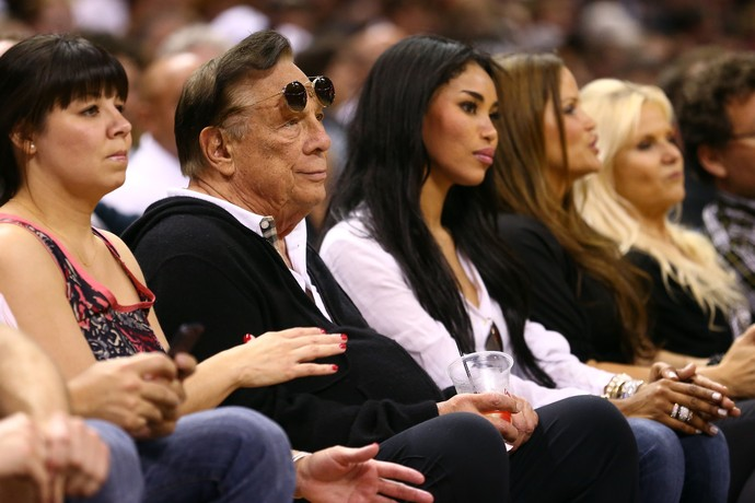 basquete nba donald sterling stiviano los angeles clippers (Foto: Getty Images)