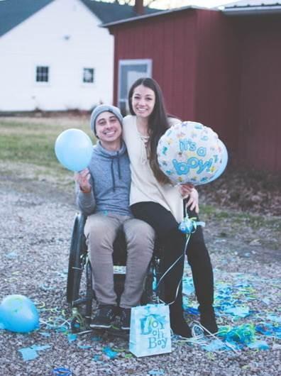O casal está esperando um menino (Foto: Kayla Duffin Photography)