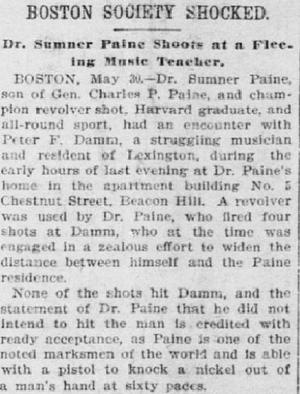 The Times Sumner Paine (Foto: Reprodução)