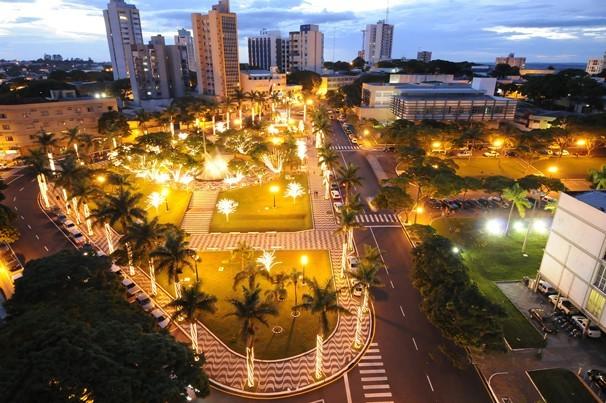Abertura do Natal de Umuarama  vai ser na quinta-feira (4) (Foto: Divulgação/Prefeitura de Umuarama)