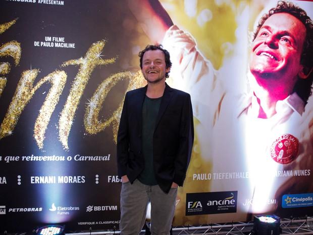 Matheus Nachtergaele em pré-estreia de filme em São Paulo (Foto: Marcos Ribas/ Foto Rio News)