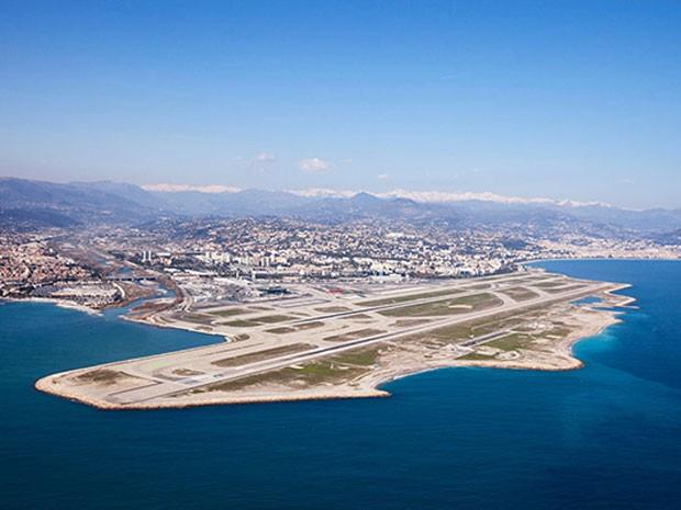 Aeroporto de Nice Cote D'Azur, na França (Foto: PrivateFly/Divulgação)