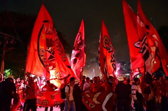 Torcida São Paulo x Atlético-MG (Foto: Marcos Ribolli)