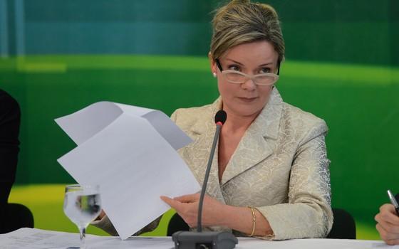 A ministra-chefe da Casa Civil, Gleisi Hoffmann (Foto: Fabio Rodrigues Pozzebom/Abr)