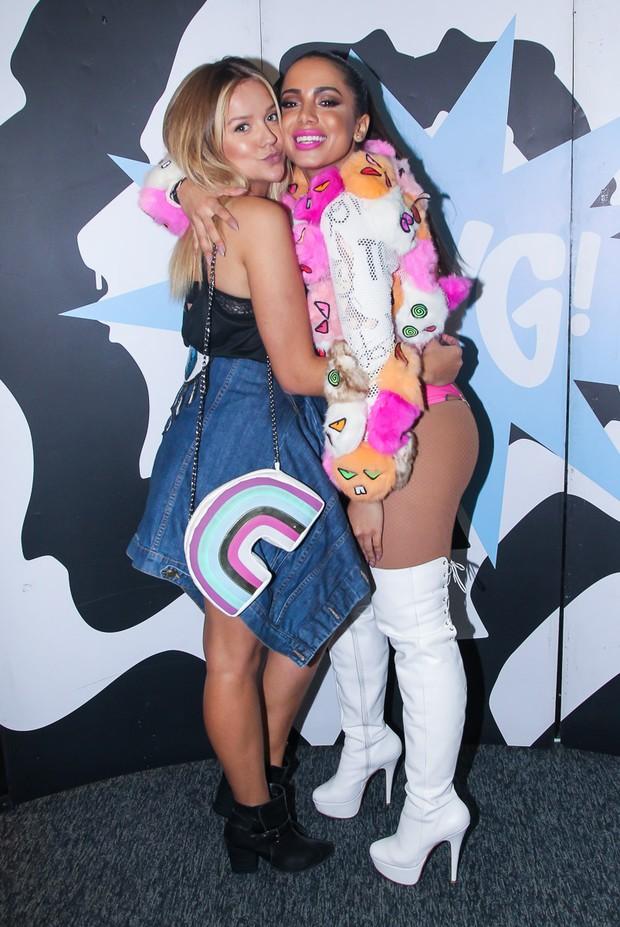 Gabi Lopes e Anitta (Foto: Manuela Scarpa/Brazil News)