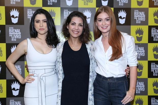 Olivia Torres, Thalita Rebouças e Marina Ruy Barbosa (Foto: AG News)