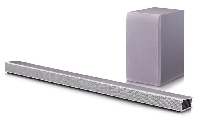 LG lança SH5, sound bar wireless para TVs e celulares  (Foto: Divulgação/LG)