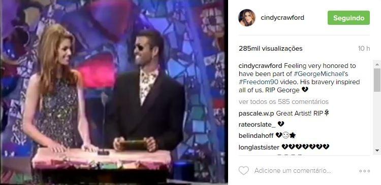 Cindy Crawford (Foto: Reprodução/Instagram)