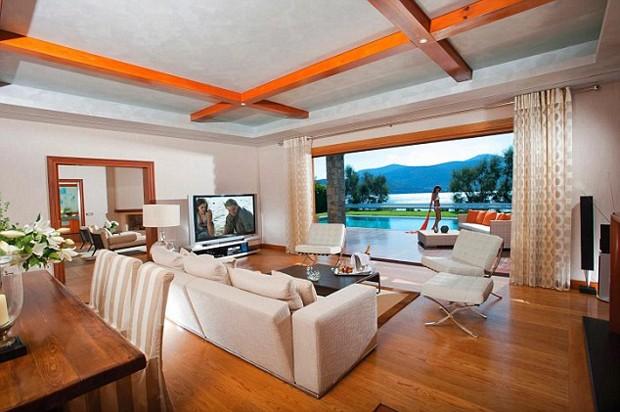 DiCaprio ficou na Royal Villa Suite, enquanto Jennifer Lopez preferiu a Dream Suite  (Foto: Reprodução)