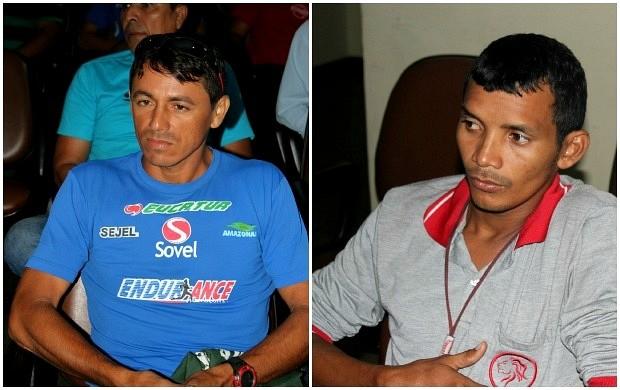 Montagem, corredores de rua de Manaus (Foto: Anderson Silva/Globoesporte.com)
