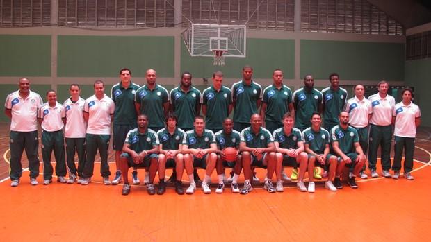 Basquete do Palmeiras é apresentado (Foto: Daniel Romeu/Globoesporte.com)