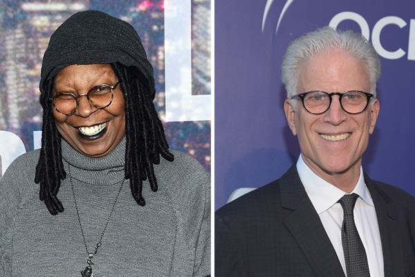 Whoopi Goldberg e Ted Danson (Foto: Getty Images)