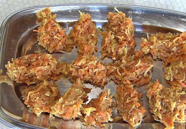 Receita usa combinação de sabores da cenoura e do coco (Foto: Reprodução TV Fronteira)