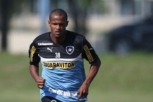 Aírton no Botafogo (Foto: Satiro Sodre /SSPress)