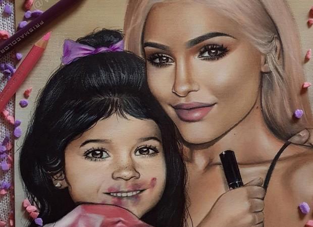 Kylie Jenner está grávida de seu primeiro filho