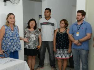Edith Di Giorgi conversou com os moradores (Foto: Emerson Ferraz)