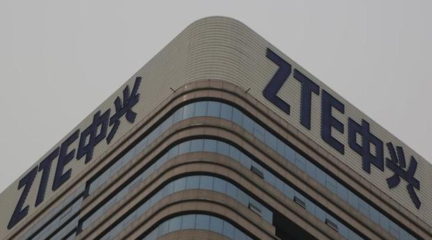Prédio da ZTE. Empresa quer criar a maior rede 5G da China (Foto: Reuters)
