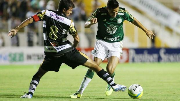 Alan Kardec Palmeirs x XV de Piracicaba (Foto: Marcos Bezerra / Futura Press)