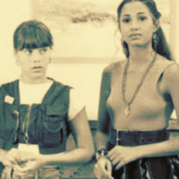 Carolina Dieckmann e Camila Pitanga em cena de 'Sex Appeal' (Foto: Reprodução/Instagram)