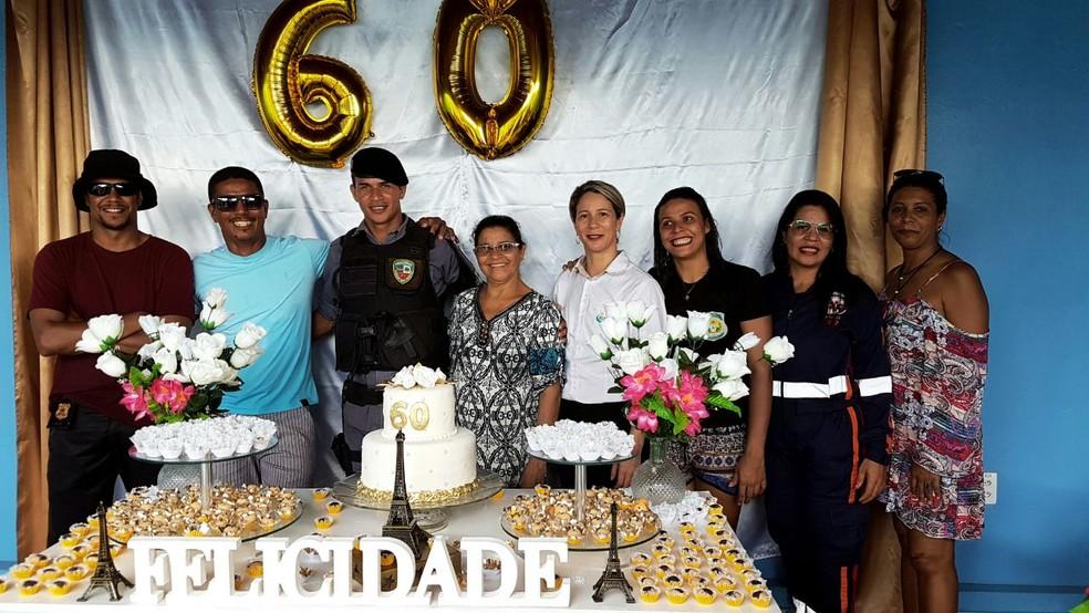 Francisca Silva conseguiu formar sete filhos (Foto: Anny Barbosa/G1)