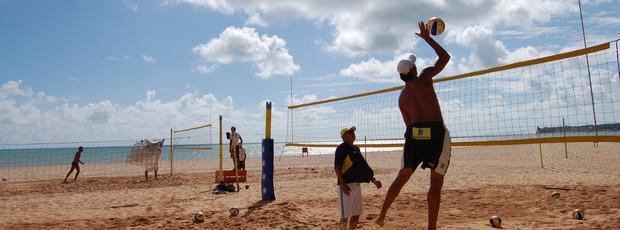 Ricardo, vôlei de praia (Foto: Lucas Barros / Globoesporte.com/pb)